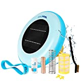 EAAZPOOL Solar Pool Ionizer   Up to 85% Less Chlorine   Pool Cleaning Device   Solar Chlorine Free Pool Purifier & Sanitizer   Longer-Lasting Anode   1 Year Replacement Warranty   Up to 45,000 Gallons