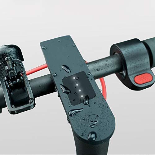 Starmood Impermeable Pantalla Circuito Impreso Funda Silicona Protector para Xiaomi M365 Pro - Negro