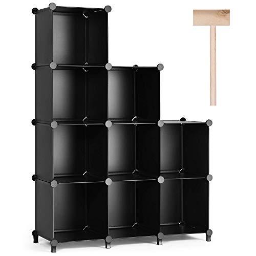 Puroma Cube Storage Organizer 9-Cube Closet Storage Shelves with...