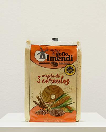Gofio de Mezcla de 3 Cereales Imendi: Millo, Trigo, Cebada 1