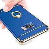 YULNCUZ Samsung Galaxy S8 ケース リング付き 衝撃吸収 3パーツ式 PC 携帯カバー 軽量 薄型 g……
