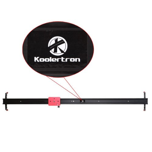 Koolertron 60CMカメラ撮影ミニスライダレール 映像安定化システム ビデオカメラスライダ Professional 60CM Video Camera Mini Slider with Adjustable Damping& Apply in Video Shooting Rail Stabilization System For DV DSLR Video Camera Canon 550D 500D 600D 1100D 60D 50D 40D 5D 5DII 5DIII