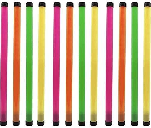 N\C Toys Garden Tube Bastone Sonoro Rumoroso Tubo Musicale o Sonoro in Plastica Visto in LOL Fuori da Frank Matano 2 Pezzi ( Colore Casuale)
