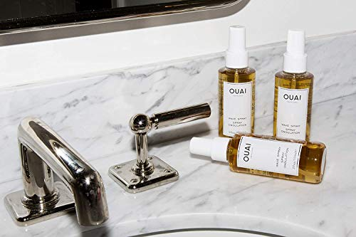 OUAI Wave Spray. For Perfect Yet Effortless Beachy Waves. The Wave Spray Adds Texture, Body and Shine and is Safe for Color- and Keratin-Treated Hair. Free from Parabens and Sulfates (4.9 oz) 5