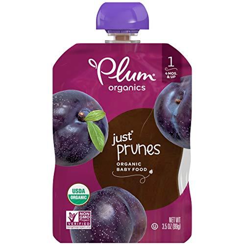 Plum Organics Stage 1 Organic Baby Food, Prune Puree, 3.5...