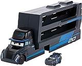 Disney Pixar Cars Camion Transporteur Jackson Storm pour transporter jusqu'à 18...