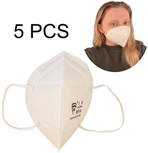 Disery 5/10/15 / 20PCS Adulti Generale KN95 N95 FFP2 PM2.5 Traspirante Elastic Bocca Morbida la Faccia Healt protetta Anti FFP2 Polvere,5PCS