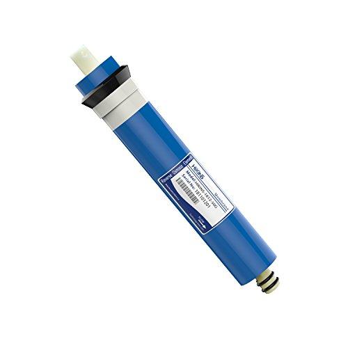 HiKiNS 1812 - 50 GPD RO ósmosis inversa Membrana hogar purificador de Agua Ro Universal Compatible con Filtro de Repuesto para casa purificador de Agua de ósmosis inversa