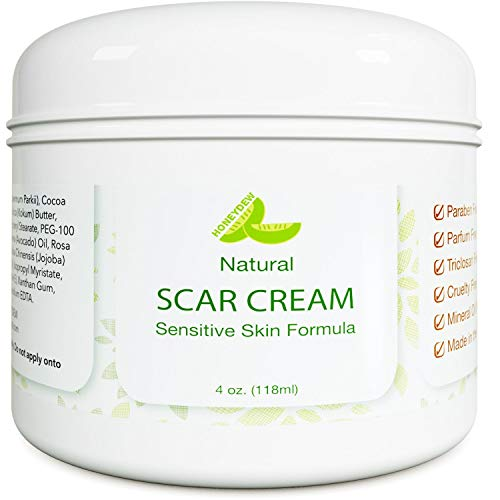 Scar Cream for Face and Body Care - Hydrating Scar...