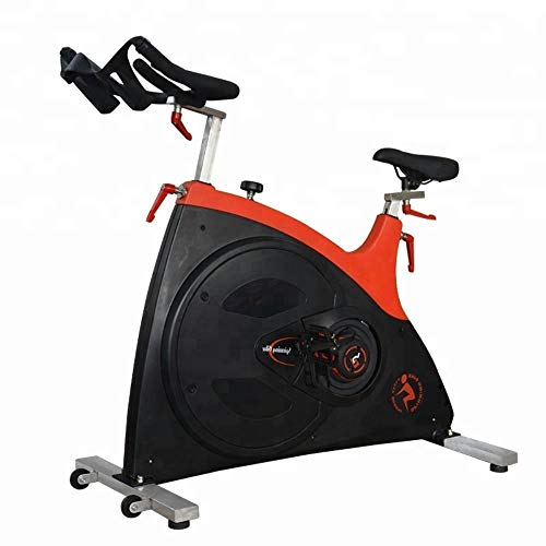 Spinning bike Weight Loss Bike Silent Movable Press Brake Strong Load Bearing Rubber Anti-Vibration Foot Pad Stepless Speed Regulation Home Outdoor Gym Fitness Equipment 1 Pack Yellow 1