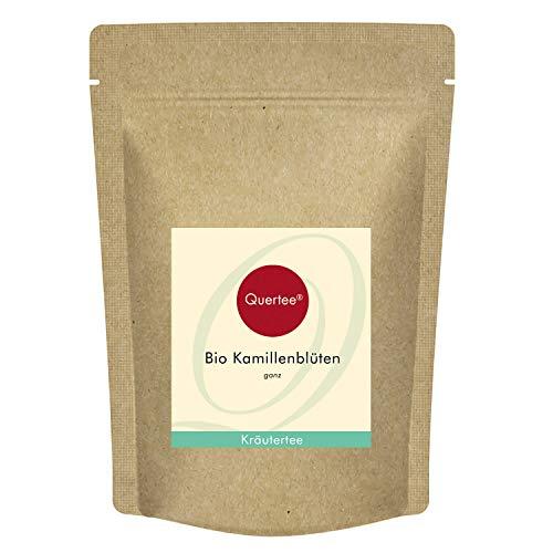 Quertee Kamille Kamillenblüten Bio Kamillen Tee - Ganze Blüten (200 g)