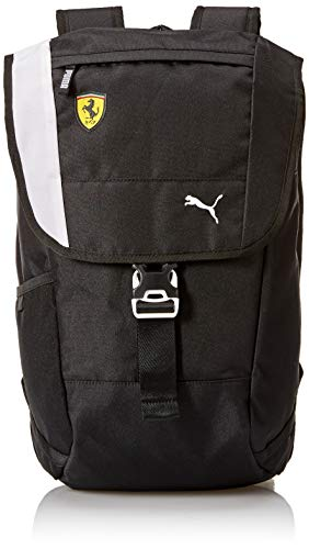 PUMA Men's Scuderia Ferrari Fanwear Backpack, Black, One Size