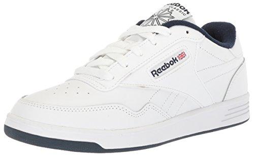 Reebok Men's Club Memt Fashion Sneaker, White/Collegiate Navy, 7...