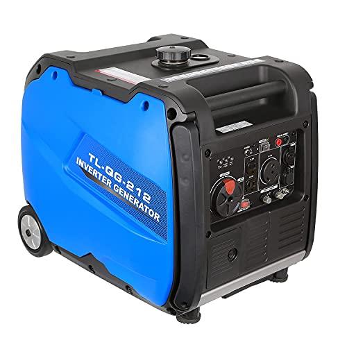 BILT HARD Quiet Inverter Generator 4000 Watt, RV Ready with...