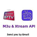 Smart IPTV Subscription 6500+Channels UK USA Belgium Sweden France Arabic Greek Turkish Canada Latin IPTV M3U 4K HD Smart TV Box Android -1 Year Code