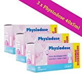SERUM PHYSIOLOGIQUE LOT DE 3 X 40 DOSETTES
