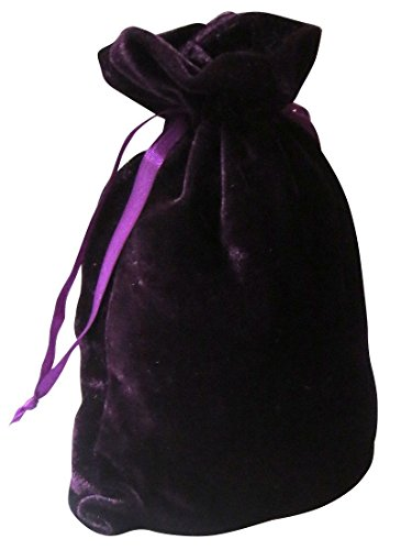 Tarot Bags: Purple Luxury Velvet 6 X 9 by Paper Mart