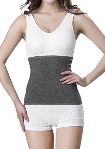 Winter Nierenwärmer Kaschmir Rückenwärmer Elastisch Taille Unterstützung Taille Wärmer Leibwärmer Wärmegürtel für Hexenschuss Rückenschmerzen Menstruationsbeschwerden