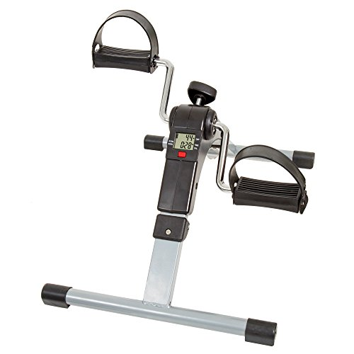 Wakeman 80-5113 Fitness Folding Pedal Exerciser with Electronic Display