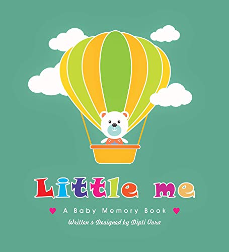 Little Me, A Baby Memory Book   Baby Record Book   Baby Journal   Baby Milestone Book   Modern Baby Shower Gift   Gender Neutral.(English)