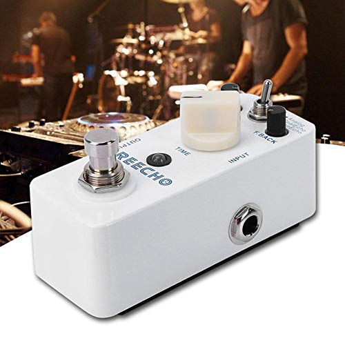 Naroote 【 】 Guitar Distortion Pedal, All-metal Housing Digital Delay Electric Guitar Accessories