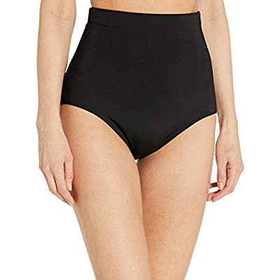 Control panels built into bottom on back side Silicone beading inside waistband helps keep suit in place Power Mesh with Great Tummy Control Comfortable unlike other control bottoms The Anne Cole Collection was created for women of every age that fla...
