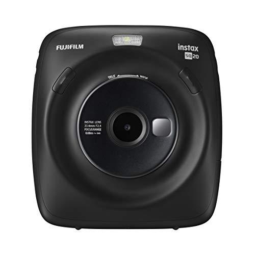 FUJIFILM ハイブリッドインスタントカメラ instax SQUARE SQ20 マットブラック INS SQ 20 BLACK