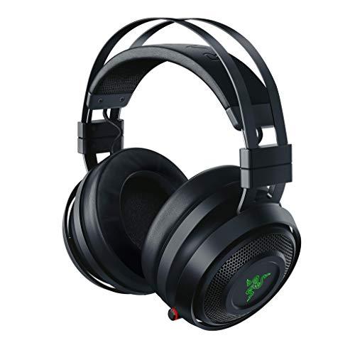Razer Nari – Casque Gamer Sans Fil (Bluetooth Casque de Jeu Sans Fil avec THX Spatial Audio 360°, Coussin de Gel Rafraîchissant & RGB Chroma pour PC, PS4, Xbox One & Switch)