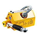HONYTA Magnetic Lifter,2200 Lbs Lifting Capacity,Lifting Magnet with Release,Permanent Lift Magnets,Steel Magnetic Lifter,Magnet for Hoist,Used in Shop Crane,for Lifting Plate Steel,Board