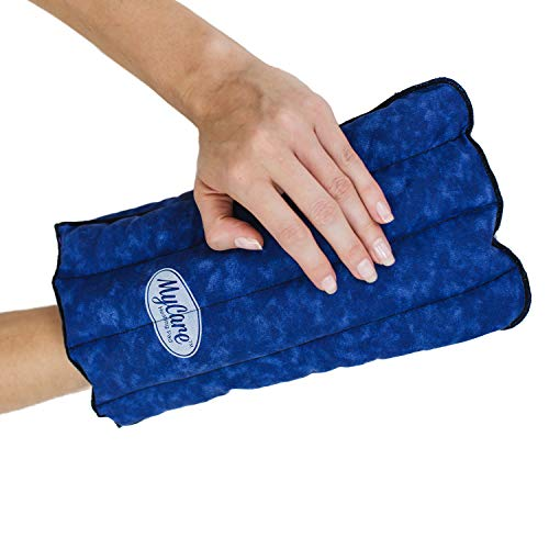 MyCare Heating Pad - Microwavable Therapy Glove for Arthritis Stiff Soreness and Trigger Finger - Natural Moist Heat Pain Relief for The Hand for Small to Medium Size Hand