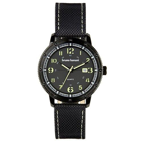 Bruno Banani Uhr Armbanduhr Geros Leder Analog BR30001