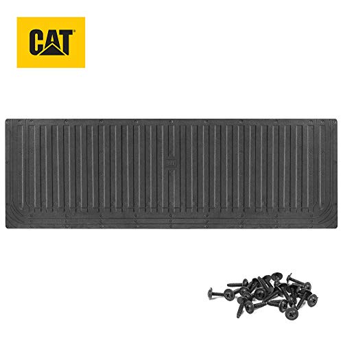 Caterpillar Ultra Tough Heavy Duty Truck Tailgate Mat/Pad/Protector - Universal Trim-to-Fit Extra-Thick Rubber for All Pickup Trucks 62' x 21'