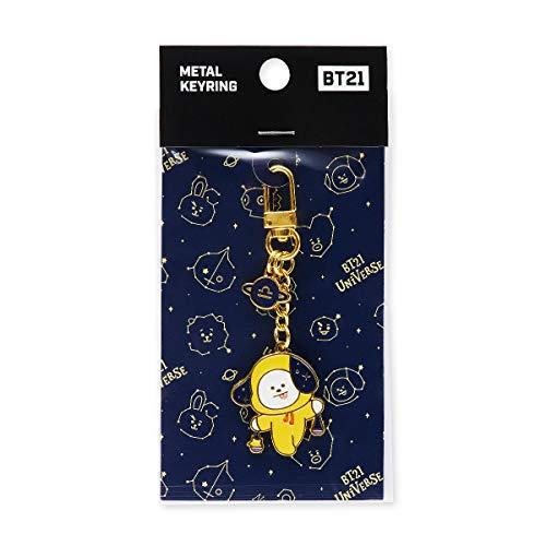 BT21 Official Merchandise by Line Friends – Character Universtar Metal Keyring