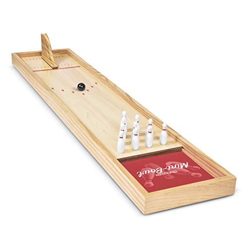GoSports Tabletop Mini Bowling Game Set | Premium...