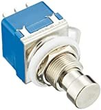 CLIFF 3PDTフットスイッチ FC71077タイプ 3回路2接点9ピン 1個売り エフェクターパーツ VGS-FSW9BLx1p ブルー