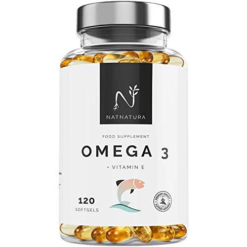 Omega 3+Vitamina E. Alta dosis de ácidos grasos Omega 3, 20