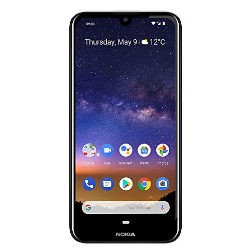 Nokia 2.2 Fully Unlocked Smartphone with 5.71' HD+ Screen, 13 MP Camera and Android 10 Ready, Black (AT&T/T-Mobile/Cricket/Tracfone/Simple Mobile)