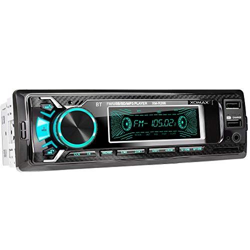 XOMAX XM-R266 Autoradio mit Bluetooth Freisprecheinrichtung I Smartphone...