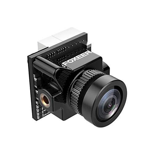 Foxeer Micro Predator 4 Super WDR 4mm Latency 1000TVL FPV Racing Camera with OSD for RC Drone-Black Plug