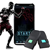[Updated 2020 Model] Boxing Tracker Sensor,Wearable Smart Punch Boxing Gloves Workout Tracker for...