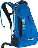 CamelBak Velocity Trail - Mochila de hidratación ligera con depósito crux, azul, sin BPA