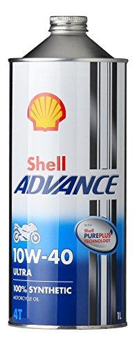 SHELL ADVANCE(シェルアドバンス) 4T ウルトラ モーターサイクルオイル 1L 10W-40(SN) 412232193-1