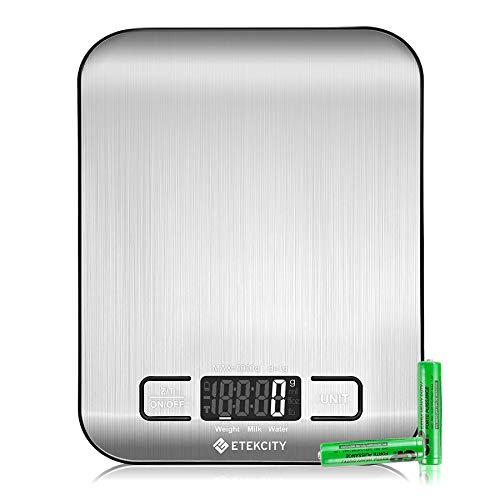 Digital Kitchen Scale, Stainless Steel