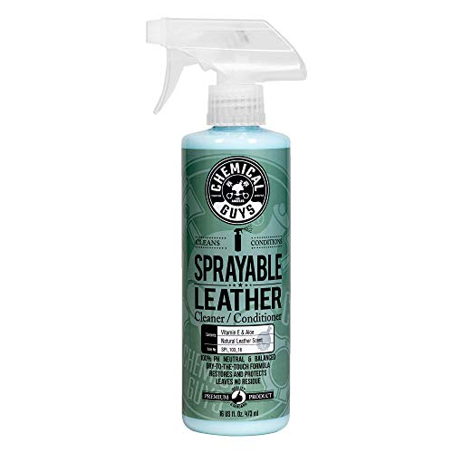 Chemical Guys SPI_103_16 Sprayable Leather Cleaner and Conditioner in One, 16 oz