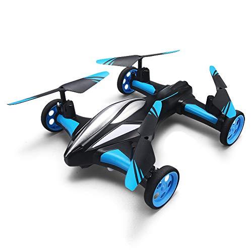 2 in 1 RC Drone 2.4G 4CH RC Droni 6 Axis Gyro RC Quadcopter con Ruote Land/Cielo Mini Elicottero per Giocattoli Regalo per Bambini E Principianti