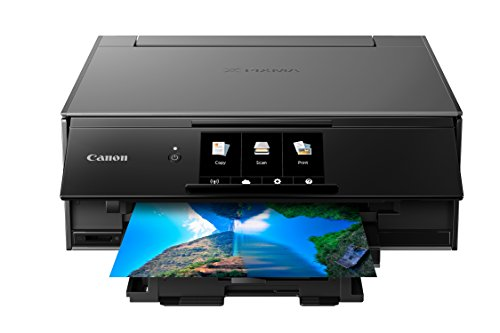 Canon TS9120 Wireless Printer with Scanner and Copier: Mobile and Tablet Printing, with Airprint and Google Cloud Print compatible, Gray