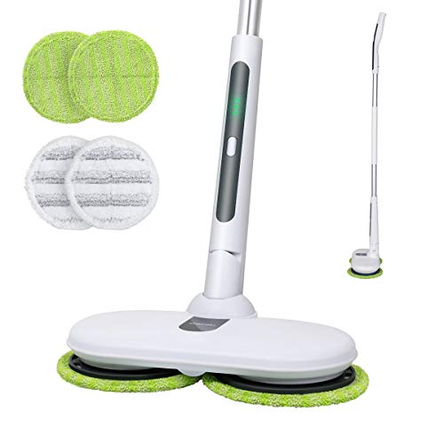 OGORI Electric Mops for Floor Cleaning Wood Floor Cleaner with 4...