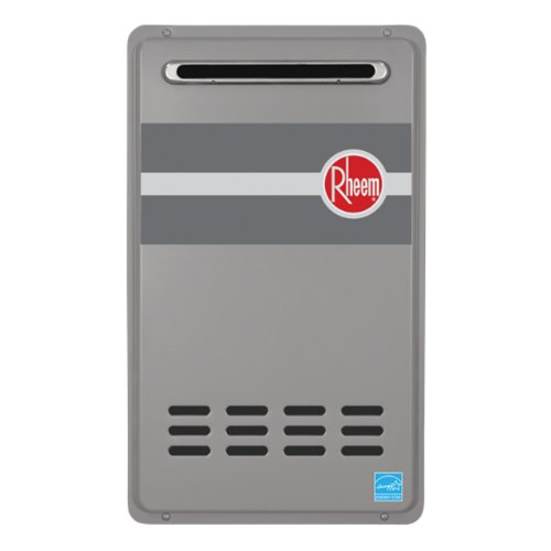 Rheem RTG-95XLN 9.5 GPM Low NOx Outdoor Tankless Natural Gas Water Heater