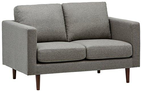 Marchio Amazon -Rivet, divanetto amorino modello Revolve, stile moderno, larghezza 142 cm, tessuto...