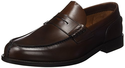 Lottusse L6902 Zapatos Hombre, Marrón (Jocker P.Teak), 42.5 EU (8.5 UK)